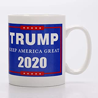 Keep America Great |Trump 2020 Campaign | Pro Trump | Handmade Ceramic Cup,Coffee Mugs, Tea Cup, for Office and Home, Funny Gift,Maximum Capacity (420ml)