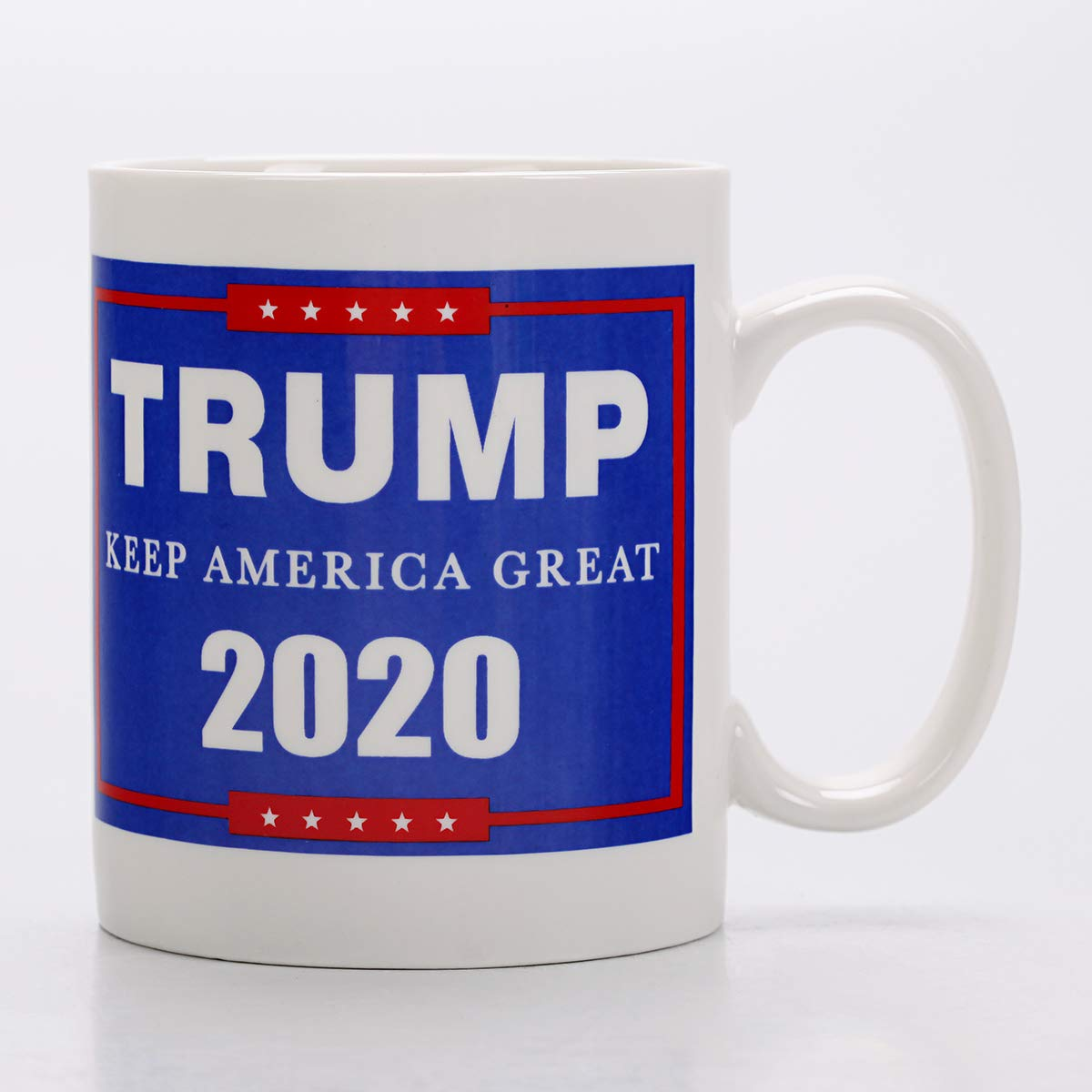 Amazon Com Keep America Great Trump 2020 Campaign Pro Trump Handmade Ceramic Cup Coffee Mugs Tea Cup For Office And Home Funny Gift Maximum Capacity 420ml Kitchen Dining
