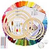 Caydo Hand Embroidery Kit with...