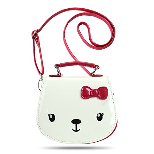 Ava   Kings  Glossy PU Faux Leather Cute Animal Purses for Little Girls 5b73873a65122