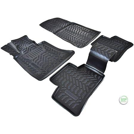 Walser Xtr Gummifußmatten Kompatibel Mit Mercedes Benz Glk Klasse X204 Baujahr 2008 2015 Passgenaue Auto Gummimatten Autofußmatten Gummi Auto