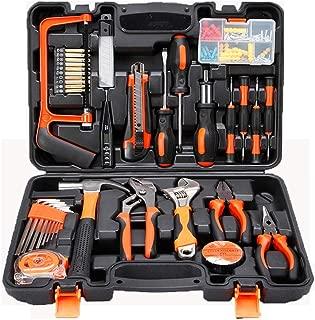 Home Tool Kits Multi-Functional & Universal 100 in 1 Precision Screwdriver Hammer Set Repair Tool Kit for Household Electronics Test Repair Maintenance 100 Pieces Tool Kits (100pcs Tool Kits)