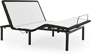 zzZenSleep Adjustable Bed Frame with Independent Head and Foot Incline, Fast and Easy No Tools Required Assembly with 10 Year Limited Warranty (Queen)