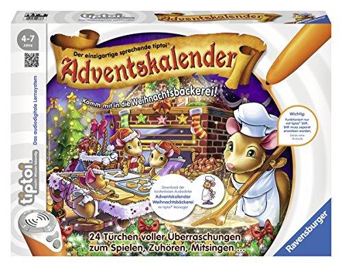Ravensburger 00738 - tiptoi Adventskalender In der Weihnachtsbäckerei