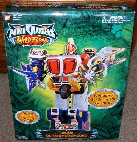 Power Rangers Deluxe Ultimus Megazord Wild Force Action Figure