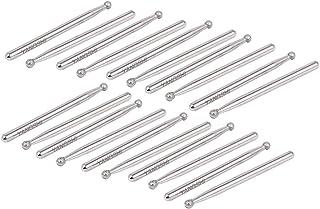 XMHF Diamond Point Grinding Drill Bits Of 3mm Dia Tip 30 Pcs