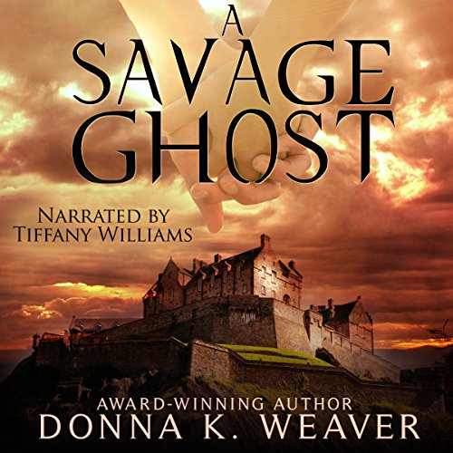 A Savage Ghost audiobook cover art