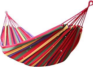 Others SQ-061 Portable Hammock Camping Hammock for Backpacking Garden, Backyard,Hiking &Traveling - Multicolors, Large