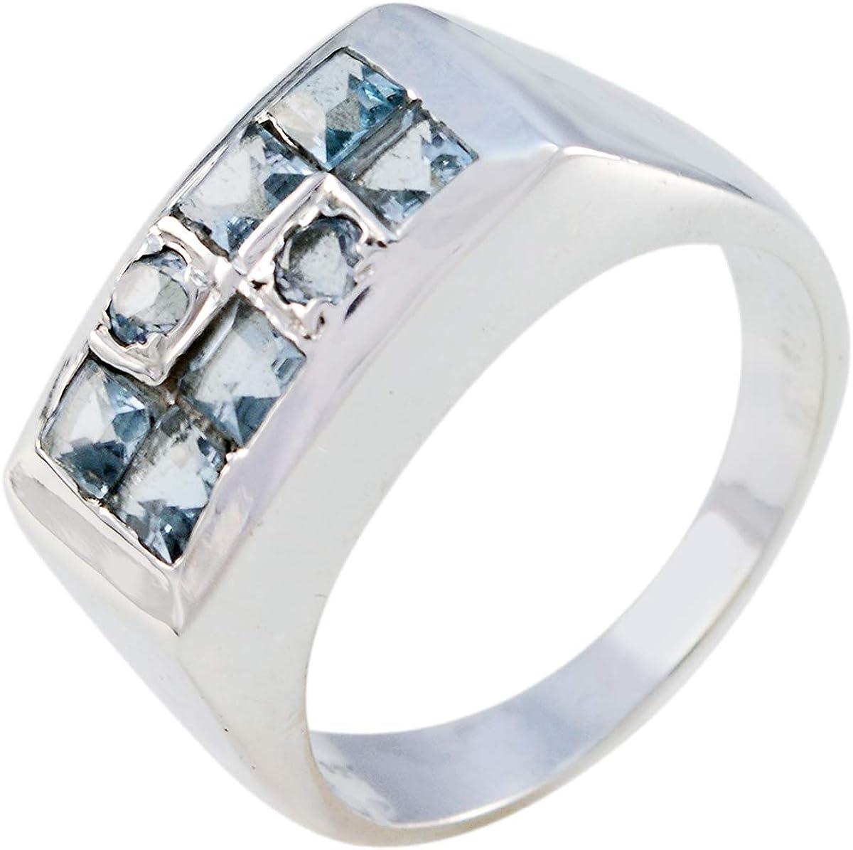 Joyas Plata Natural Gemstone multi favorite Free Shipping Cheap Bargain Gift Blu Stone Faceted Shape Multi