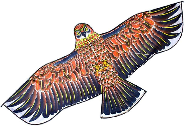 Tierdrachen, Adlerform mit Rolle, Erwachsener Drachen Dreidimensionales Flugspielzeug für Kinder, 160-180 cm (Farbe   A)