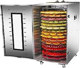 Déshydrateur Alimentaire 16 Couches Sèche-Aliments Machine à Fruits secs Sèche-Aliments Domestique pour Animaux de Compagn...