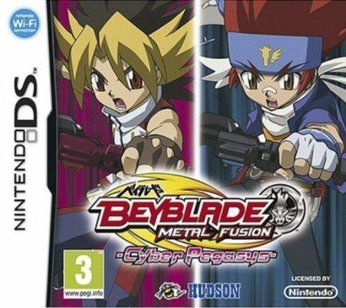 Third Party - Beyblade metal fusion : cyber pegasus sans toupie Occasion [DS] - 4012927083895 by Third Party