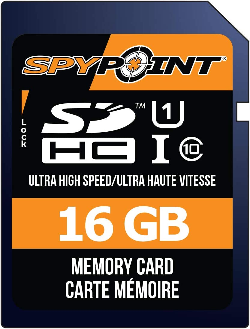 SPYPOINT SD-16GB Hunting Game & Trail Cameras Accessories
