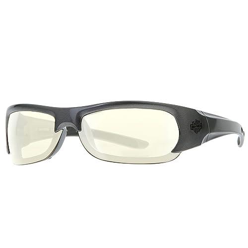 d77cf826ea Harley Davidson Metallic Grey Sunglasses Day 2 Night Lens HDSZ 901 SI-D2