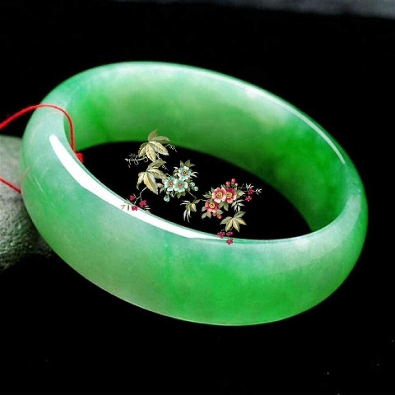 Kejing Classic Retro Bombing new work Ranking TOP17 Oriental Style Bangle Jade Emerald Natural