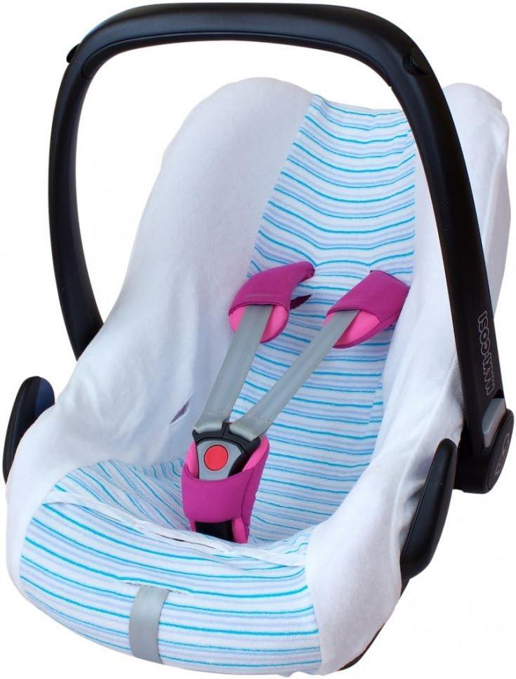 tejido de malla 3D transpirable Zamboo Funda de Verano Maxicosi Cabriofix Ajuste Perfecto Asiento Coche Grupo 0+ Maxi-Cosi Gris reduce la sudoraci/ón y protege la silla