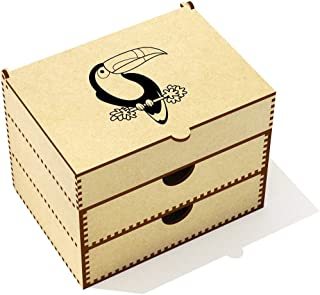 Azeeda  Toucan  Vanity Case Makeup Box  VC00020546
