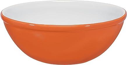 Bowl Mondoceram Laranja 15 x 15 x 5,5 cm