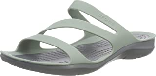 crocs Swiftwater Women Green Sandal