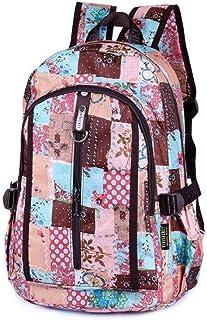 MYXMY Primary School Men and Women School Bag Children Cute Backpack Outdoor Travel Bag Shoulder Bag Printing Fashion Casual Shoulder Bag (Color : D)