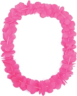 Bristol Novelty BA008 Hawaiian Leis, Womens, Pink, One Size