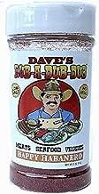 Dave's Rub A Dub Dub Happy Habanero Pepper Seasoning Spice Dry Rub for Meats Seafood Veggies 5 OZ
