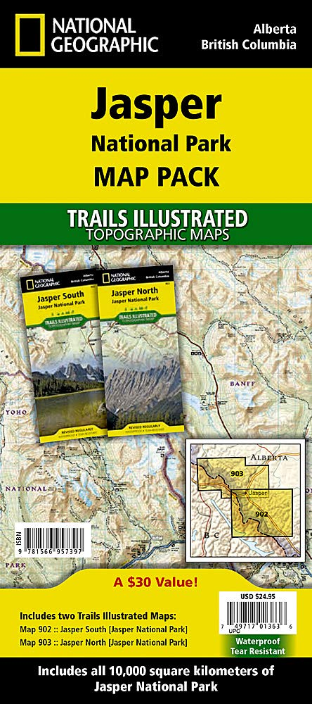 Download Jasper National Park - Map Pack Bundle 