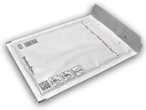Lot de 100 enveloppes à bulles gamme ECO D/4 format 180x260mm
