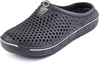 Rokiemen Garden Clogs Shoes Womens Mens Walking Sandals Mesh Quick Drying Slippers Beach Sandals
