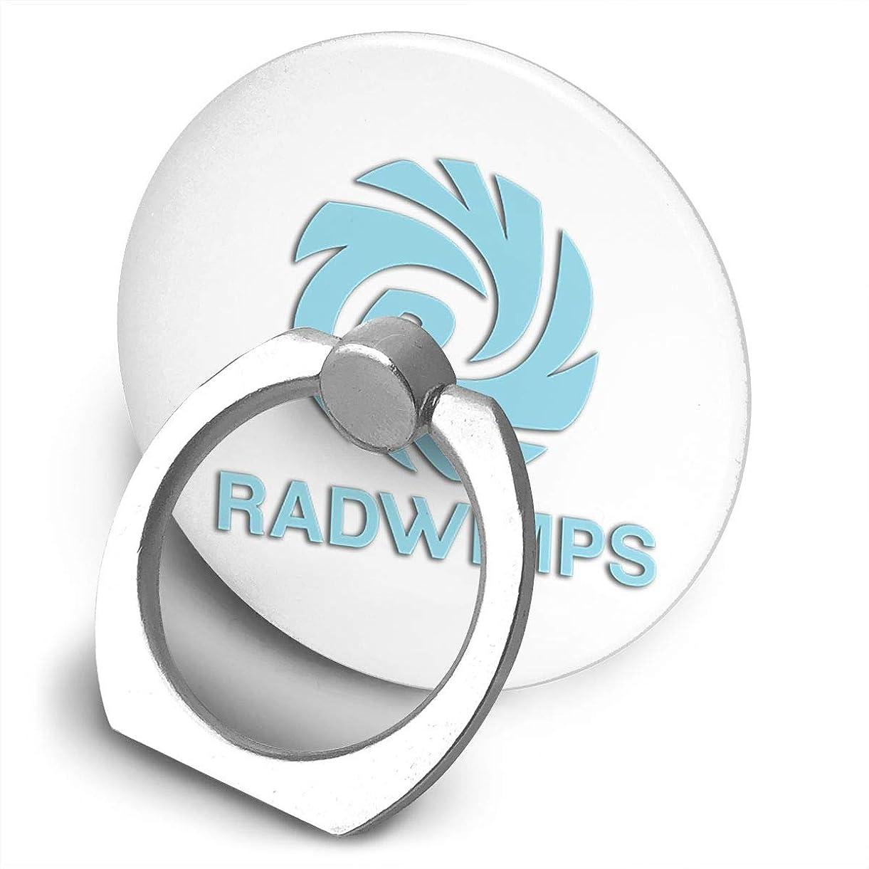 貼り直すバイオレットベックスラドウィンプ Radwimps ロゴ スマホ リング ホールドリング 指輪リング 薄型 おしゃれ スタンド機能 落下防止 360度回転 タブレット/スマホ IPhone/Android各種他対応