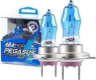 2Pcs 100W Super Bright White 6000K Halogen Xenon Light Bulb 12V Car Headlight Fog Light Lamp Replacement H7 100W 6000K