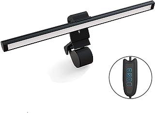 モニター掛け式ライト LED クリップライト デスクライト コンピューターライト 目に優しい 3階段調色 10階段調光 角度調節可能 PC作業/仕事/寝室/卓上/学習机/読書/譜面台/ピアノ/オーケストラピットに対応
