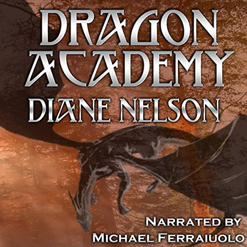 Dragon Academy audiobook cover art