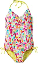 Cat & Jack Girls' Printed One Piece Swimsuit