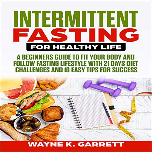 Intermittent Fasting for Healthy Life audiobook cover art