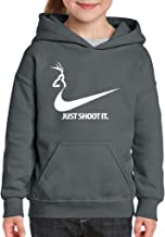 ARTIX Just Shoot It Deer Hunting Hoodie For Girls - Boys Youth Kids