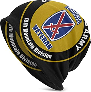 10th Mountain Division Unisex Knit Hat Soft Stretch Beanies Skull Cap Hedging Cap,Beanie Hat