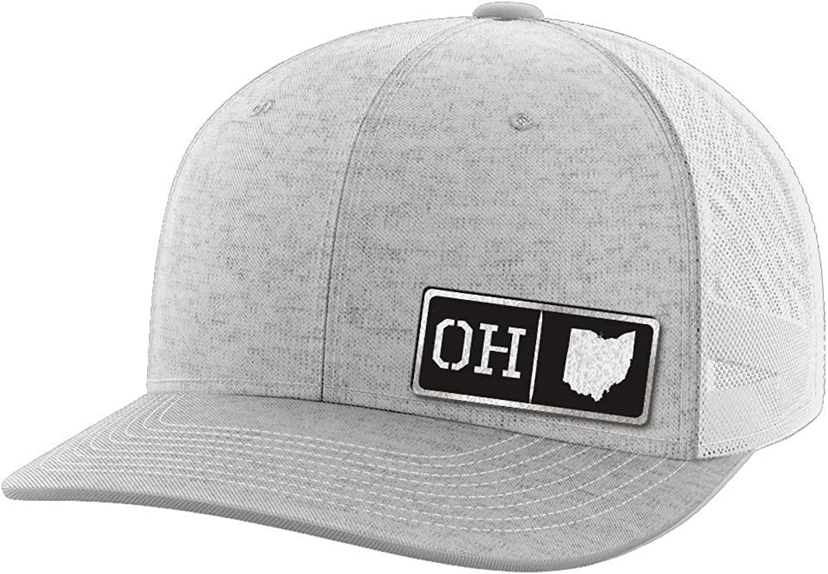 Ohio Homegrown Black Patch Hat
