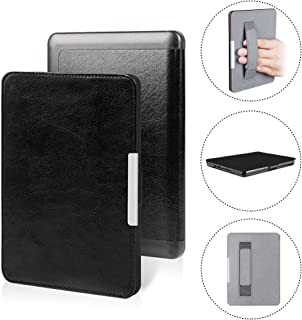 Amazon Kindle Paperwhite Case SmartShell Holding Case for Kindle Paperwhite fits All Paperwhite Generations(New Paperwhite 2012, 2013, 2015 and 2016 Versions) (Black)