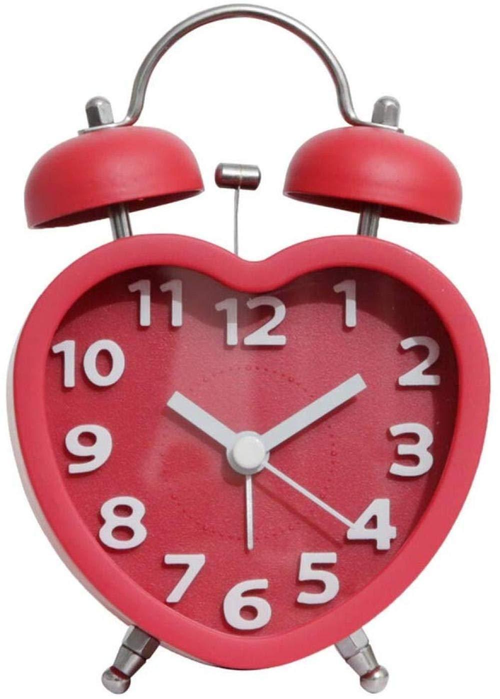 R/éveil Horloge De Table De Style Moderne Maison En Bois Naturel MAGT L/éger Et Silencieux R/éveil For Home Office Avec Bouton Arri/ère