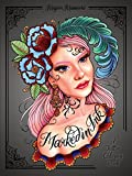 Marked in Ink: A Tattoo Coloring Book (WATSON-GUPTILL)