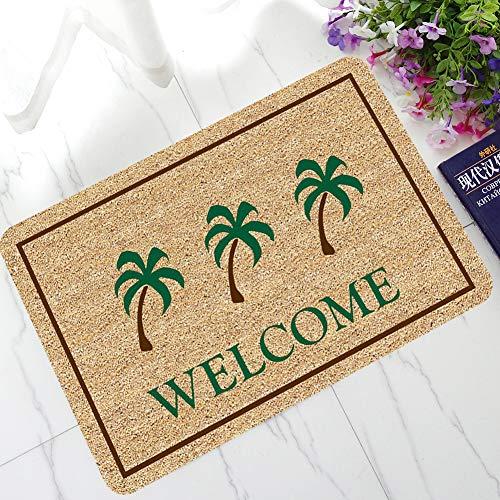 HSXQQ Creative Welcome Home Entrance Vloerkleed Non slip Deurmat Keuken badkamermat Outdoor Mat Letter Grappig
