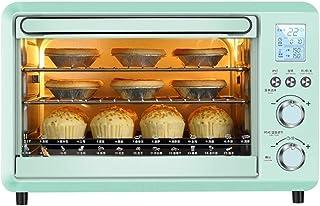 Intelligent Electronic horno multifunción, la conversión de frecuencia del termostato y el Panel Led, Bandeja de horno for hornear y la bandeja neto de escoria, de 1500w, 30L Capacidad