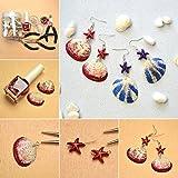 PandaHall 50 Stück Natürlichen Muschel Perlen Deko Muscheln zum Basteln - 5
