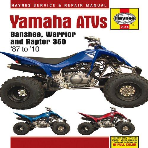Yamaha Atv Repair Manual Amazon Com