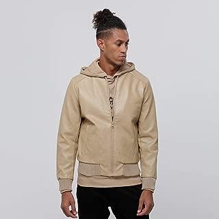 Lee Cooper Zip Up Jacket For men, Brown