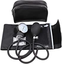 Aneroid Sphygmomanometer - LotFancy Professional Manual Blood Pressure Cuff with Zipper Case, Adult Sized Cuff (10-16 Inches),Calibration for Accurate Readings