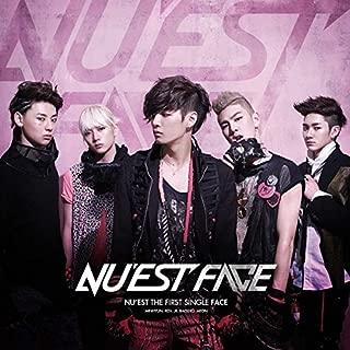 NU'EST [FACE] THE FIRST SINGLE Album CD+Photobook+Photocard+Tracking Number K-POP SEALED