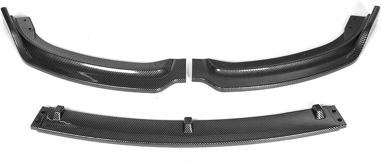 BYWWANG Car Front Bumper Splitter Max Oakland Mall 87% OFF Spoiler Diffuser Lip Body Kit