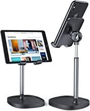 Cell Phone Stand,Angle Height Adjustable LISEN Cell Phone Stand For Desk,Thick Case Friendly Phone Holder Stand For Desk, Compatible with All Mobile Phones,iPhone,Samsung,Pixel,iPad,Tablet(4-10in)